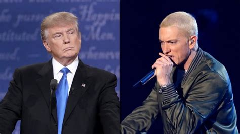 donald trump eminem donald trump called the b word by eminem on big sean s