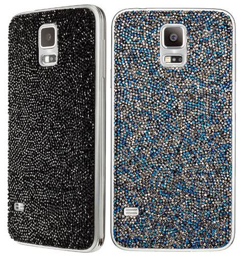 Softcase Anyland Swarovsky Samsung S5 Samsung Launches Swarovski Accessories For Galaxy