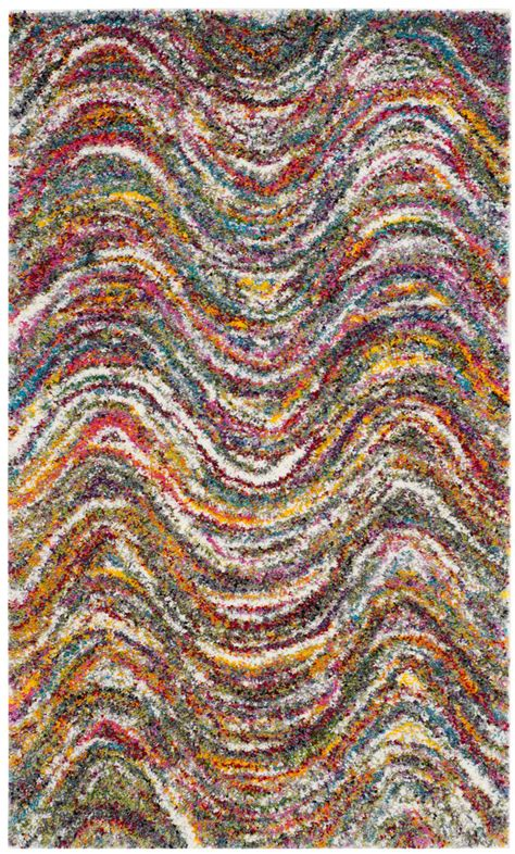 colorful shag rugs colorful shag rug collection safavieh