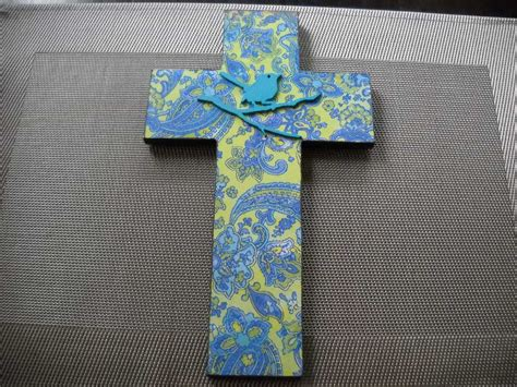decoupage crosses decoupage cross felt