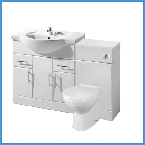 Wc Vanity Unit by High Gloss White Bathroom Vanity Unit Storage Cabinet Wc