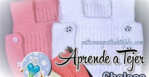 tutorial chaleco para nios en dos agujas o palillos chaleco para beb 233 de 1 a 241 o tejido con dos agujas