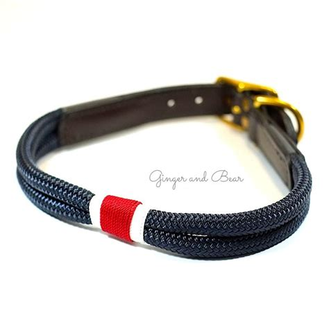 rugged collars rugged hudson collar white navy and