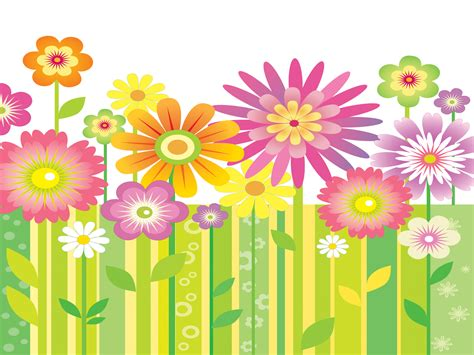 Abstract Garden Powerpoint Templates Abstract Flowers Flowers Garden Powerpoint Templates Flowers