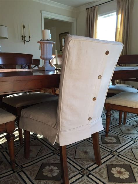 chair slipcovers dining room best 25 dining chair slipcovers ideas on
