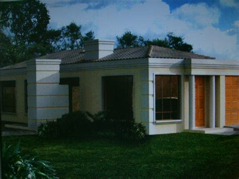 One Storey Bungalow House Plans by Single Storey House Plans South Africa Single Storey