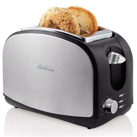 Toaster Canada sunbeam 174 designer series 2 slice toaster stainless steel tssbtrsb03 033 sunbeam 174 canada