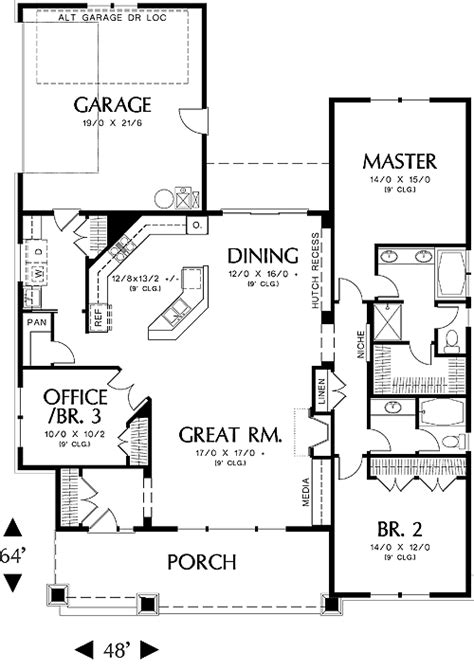 house plans with great room in front house plans with front great rooms