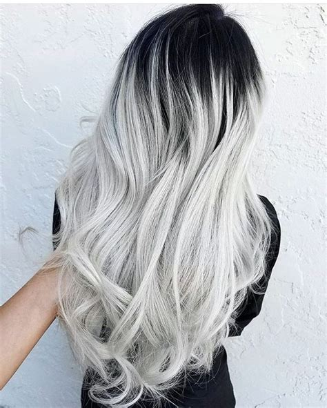 black and white hair color best 25 ombre hair color ideas on ombre hair