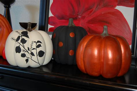 9 o clock dance of joy painted pumpkins