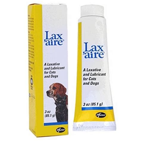 laxative for dogs lax aire laxative lubricant for dogs and cats 3 oz vetdepot