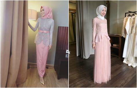 Atasan Gamis Selutut Lengan Pendek tips model kebaya muslim untuk kamu yang bertubuh pendek