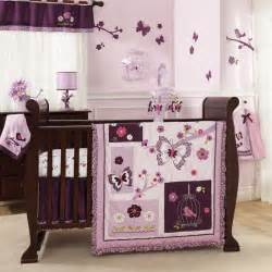 lambs 7 baby crib bedding set plumberry includes