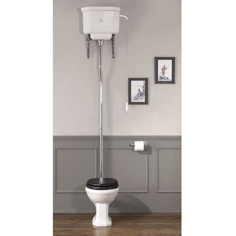 silverdale empire deco high level toilet from