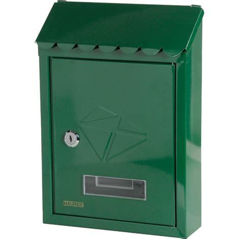 cassetta per posta cassetta per posta verde per esterni maurer postale