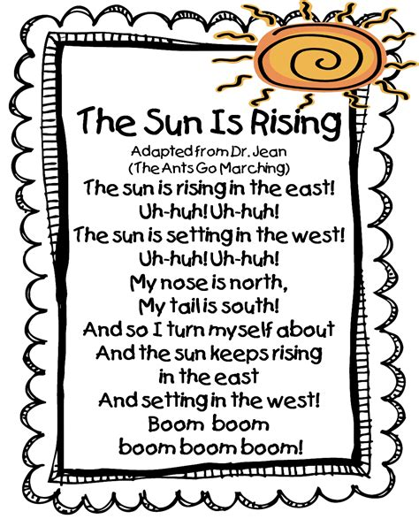 themes in the short story when the sun goes down first grade wow the sun is rising song great site