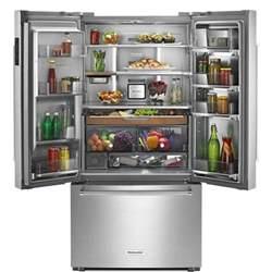 kitchenaid krfc704fss 36 quot counter depth door