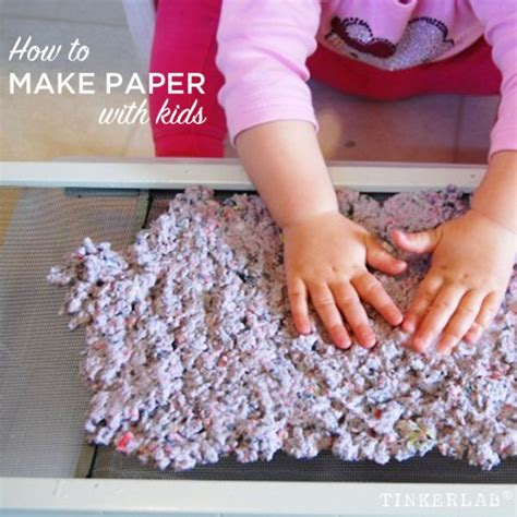 How To Make Home Made Paper - how to make paper with preschoolers tinkerlab