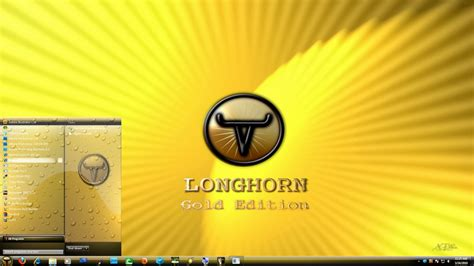 goldfish themes for windows 7 longhorn 7 gold edition theme by x ile2010 on deviantart