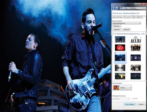 pc themes sound linkin park windows 7 theme with sound download