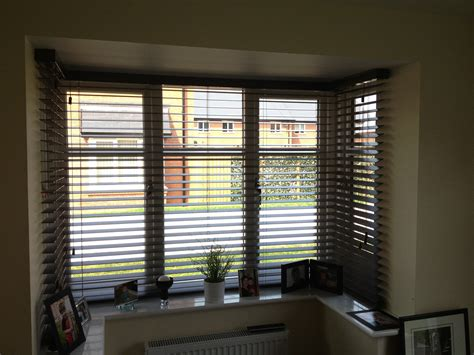 Vertical Blinds For Bow Windows wood venetian bay window south cheshire blinds south