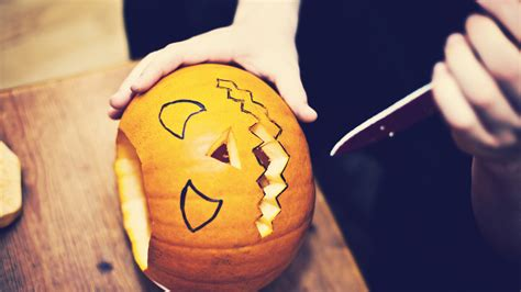 knife pumpkin pattern 15 next level pumpkin carving tools that will make this