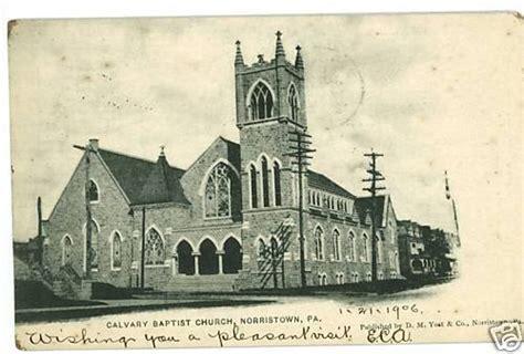 elkins park pa calvary baptist church calvary baptist norristown pennsylvania calvary baptist yost postcard
