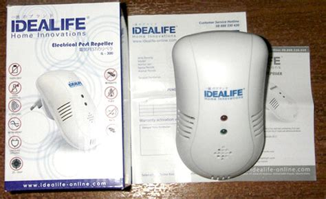 Alat Anti Tikus Pengusir Tikus bug scare ultrasonic rat pest repeller anti nyamuk
