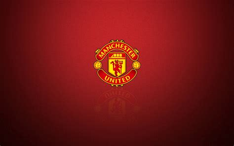 of manchester powerpoint template manchester united logos