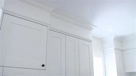 adding crown molding to ikea cabinets crown moulding and adding a bulkhead can make an ikea