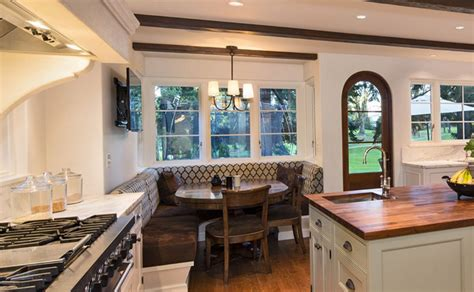 built in banquette making your kitchen the best seat in the house zillow porchlight