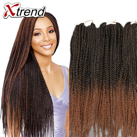 how to do ombre box braids 22 box braids hair extensions synthetic ombre kanekalon