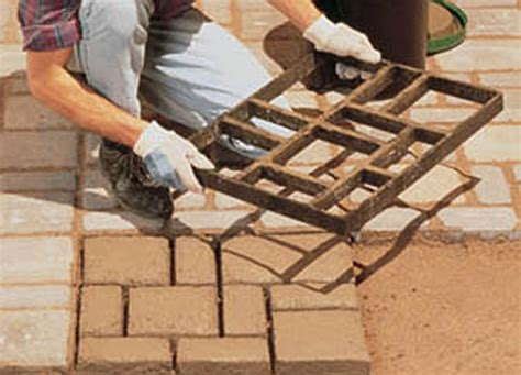 Make Your Own Patio Pavers Diy Maven Faux Pavers