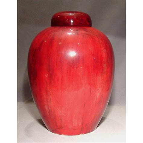 ginger jar vase large antique william moorcroft flamb 233 ginger jar vase