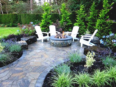 pit landscaping ideas cheap outdoor building a with