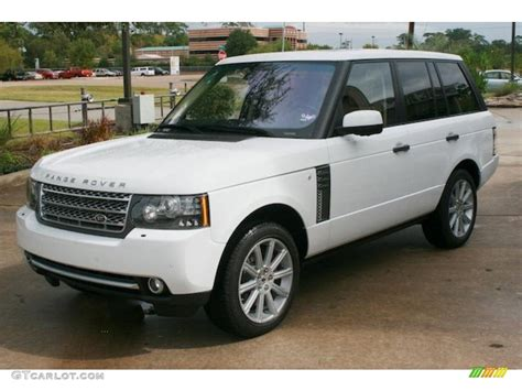 land rover supercharged white fuji white 2011 land rover range rover supercharged