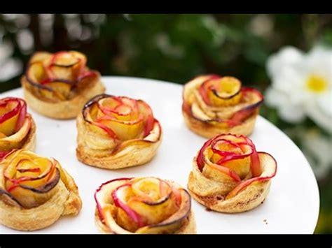roses aux pommes feuillet 233 es dessert f 234 te des m 232 res