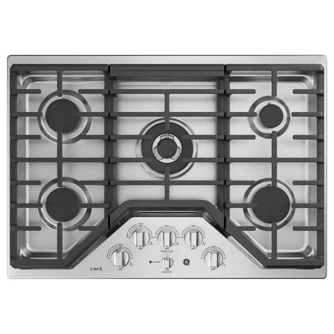 general electric gas cooktop ge 30 in coil electric cooktop in stainless steel with 4