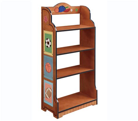 dreamfurniture teamson boys 4 level bookcase