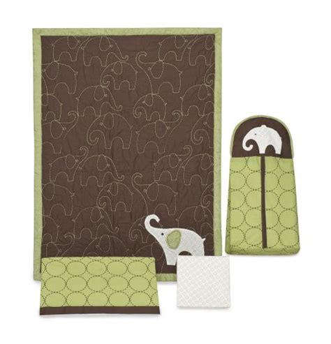 green elephant crib bedding carter s green elephant 4 crib bedding set babitha