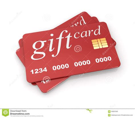 White Gift Card - gift card stock illustration image 56087993