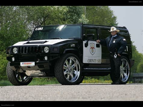 hummer sedan hummer police car tuned by geigercars de exotic car