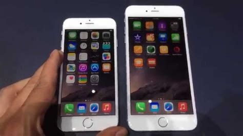 e iphone 6 iphone 6 e iphone 6 plus on demo