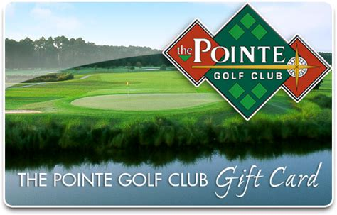 Golf Course Gift Card - pro shop overview the pointe golf club
