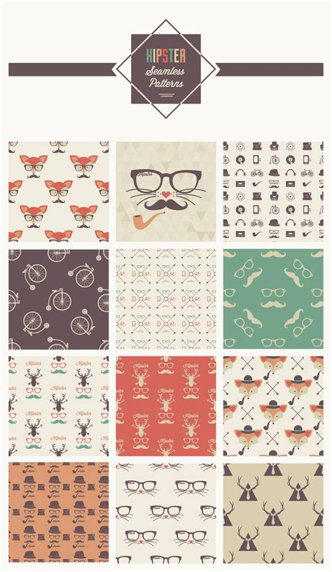 hipster pattern pinterest exclusive free hipster seamless patterns from vecteezy