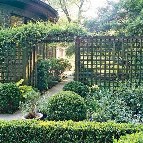 Garden Arbor And Fence Arbors With Fences