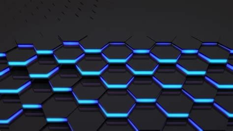 Hexagonal Abstract 3d Background Stock 3d Loop Hexagonal Motion Graphic Background 4k Resolution