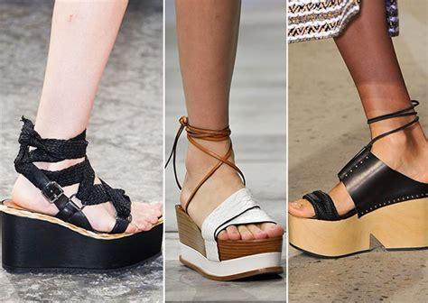 Trend Platform Shoes summer 2015 shoe trends fashionisers