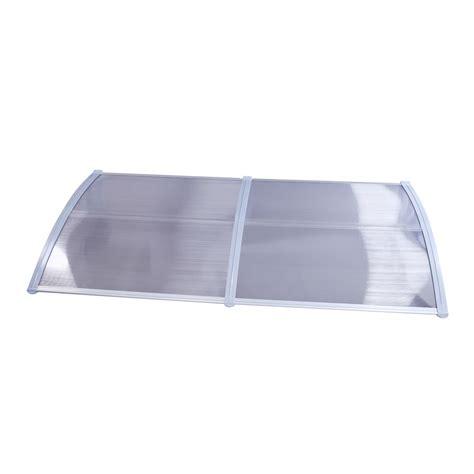 Patio Door Cover Diy 40 X 80 Outdoor Polycarbonate Front Door Window Awning Patio Cover Canopy Ebay