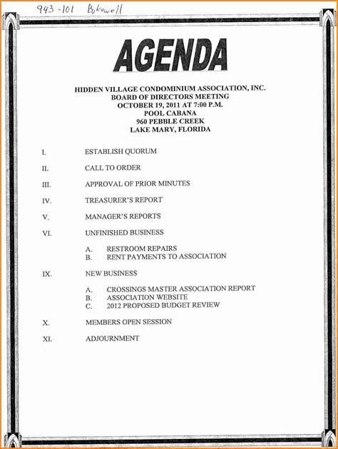 meeting agenda templates word 11 agenda template word cashier resume
